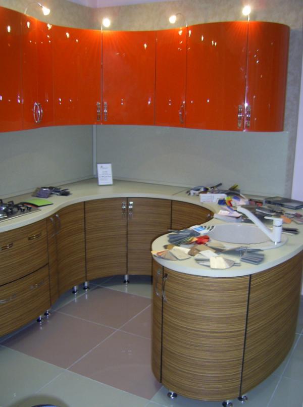 этом кухни мдф с гнутыми фасадами фото приморских
